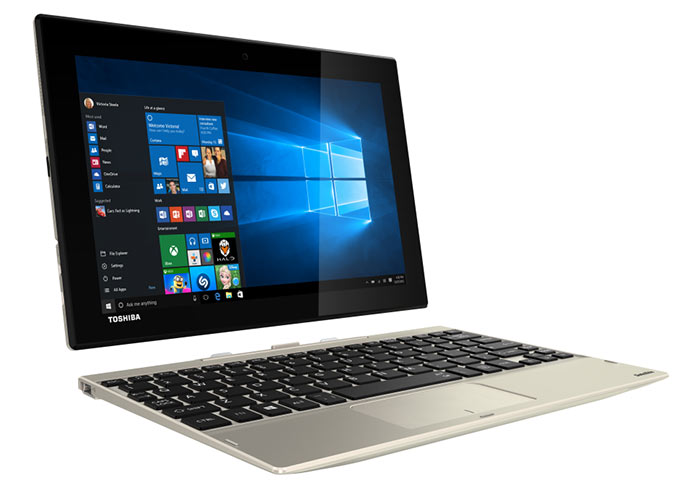 Toshiba introduces the Satellite Click 10, an entry level 2-in-1 ...