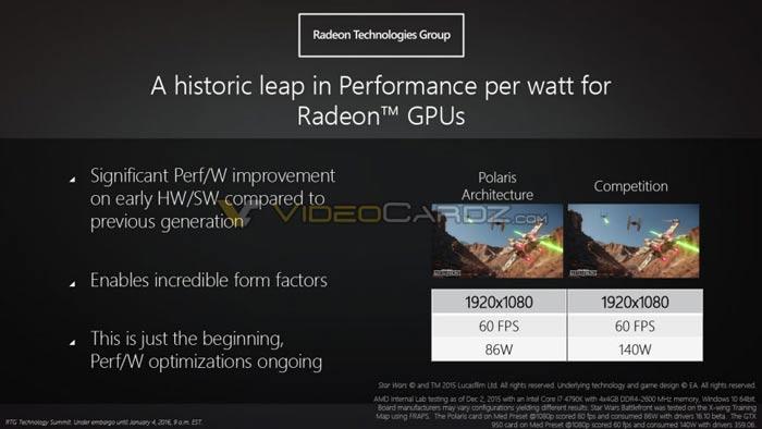 AMD Polaris GPU: detailed slides leaked - Graphics - News