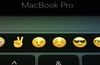 Touch Bar is a context sensitive multi-touch OLED panel which replaces the F-key row.