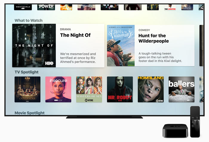 Apple's 'unified' TV app doesn't include Netflix or Amazon Video