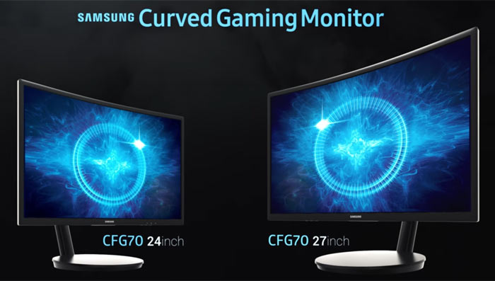 Samsung launches CFG70 quantum dot curved gaming monitors