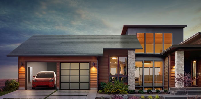 Tesla Announces Powerwall 2 And Its Hidden Solar Roof