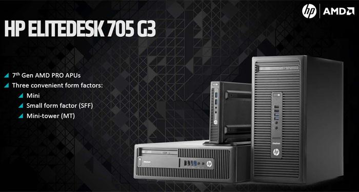 AMD unveils 7th generation AMD Pro APUs