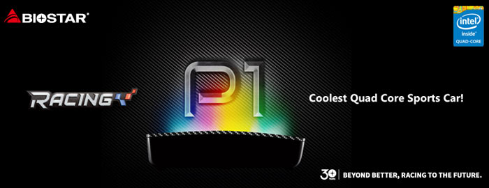 Biostar introduces pocket-sized Racing P1 mini PC - Systems