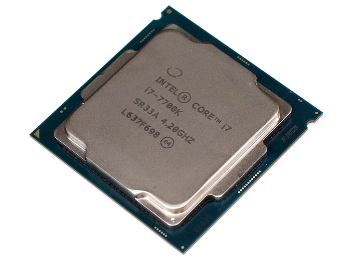 intel core i7 7700k kaby lake gets benchmarked and oced cpu news. Black Bedroom Furniture Sets. Home Design Ideas