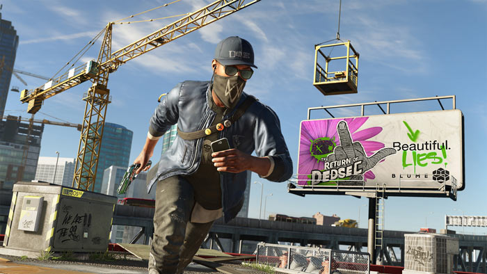 Launch trailers for Watchdogs 2 and Dishonored 2 published