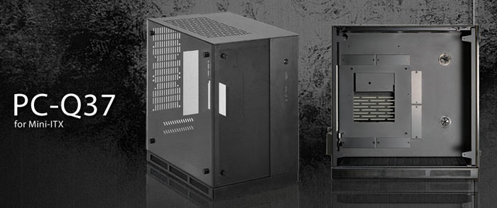 Lian Li PC-Q37 SFF chassis offers tempered glass flair - Chassis