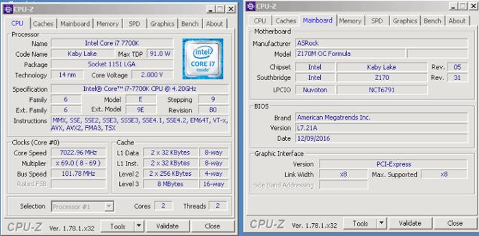 Intel Core i7-7700K overclocked to beyond 7GHz - CPU - News - HEXUS net