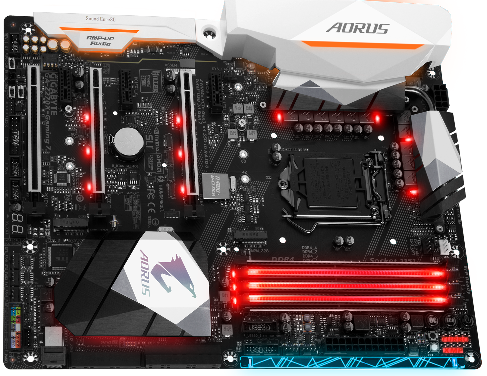 Review: Gigabyte/Aorus Z270X-Gaming 7 - Mainboard - HEXUS net