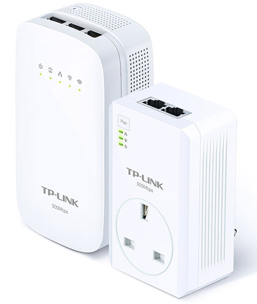 review tp link av500 powerline ac wi fi kit network. Black Bedroom Furniture Sets. Home Design Ideas