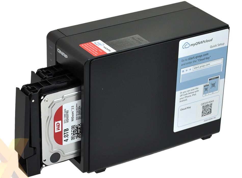 Review: Qnap TS-251+ - Storage - HEXUS net