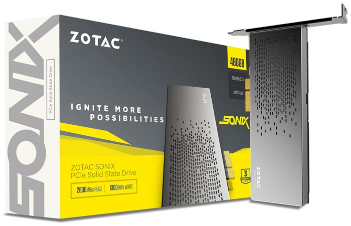 Buy ZOTAC SONIX PCI-e SSD in Pakistan