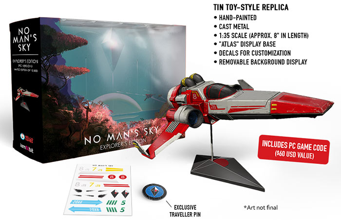 No Man S Sky Launches In June On Pc And Playstation 4 Pc
