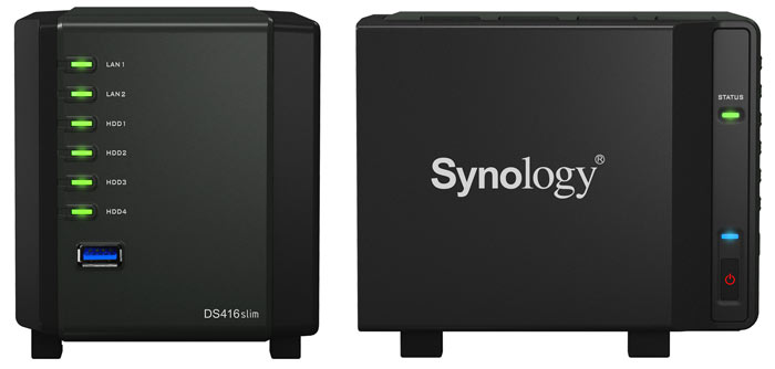 Synology Releases The Diskstation Ds416slim 4 Bay Nas Server Storage News Hexus Net