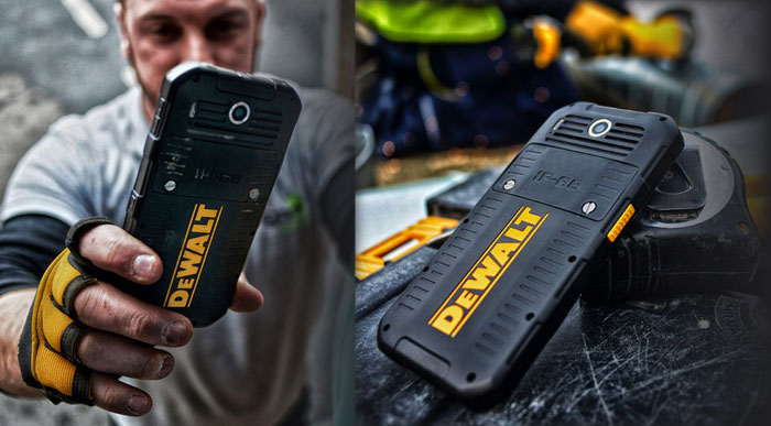 Dewalt Launches The Md501 Rugged Android Smartphone