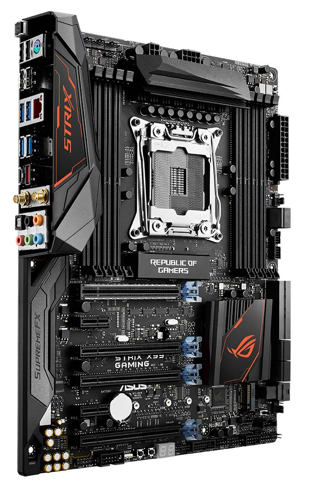 Review: Asus ROG Strix X99 Gaming - Mainboard - HEXUS net