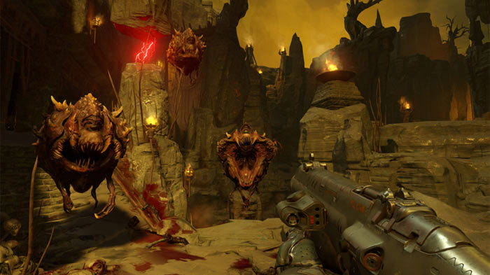DOOM PC system requirements, new launch trailer published - PC
