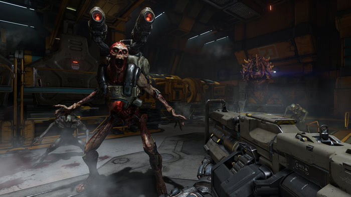 Nvidia publishes video of DOOM running on the GeForce GTX