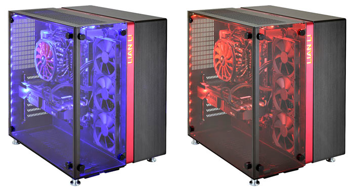 Lian Li Pc 09 Dual Compartment Chassis Announced Chassis