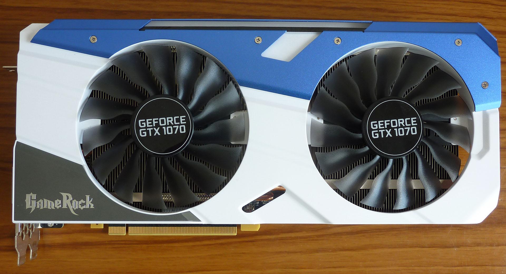 Review: Palit GeForce GTX 1070 GameRock Premium Edition - Graphics