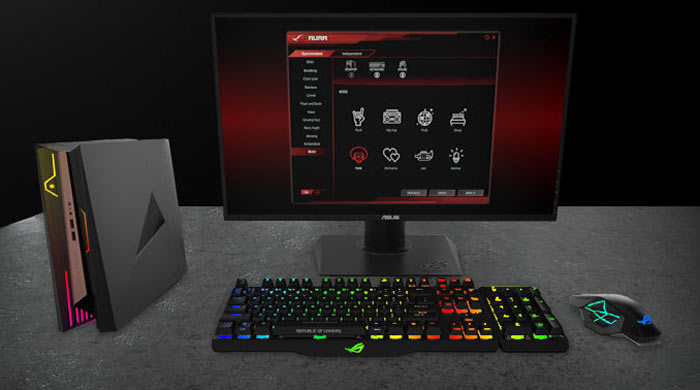 Asus ROG GR8 II 4-litre gaming PC announced - Systems - News
