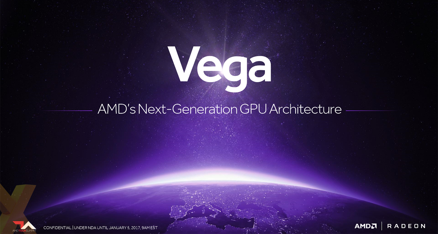 CES 2017: AMD Says Vega GPUs Not Ready Yet