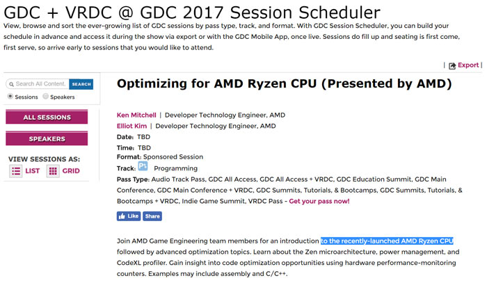 AMD Ryzen to launch at GDC says latest rumour - CPU - News - HEXUS net