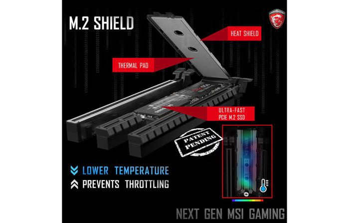 MSI M 2 Heat Shield increases SSD temperatures in testing