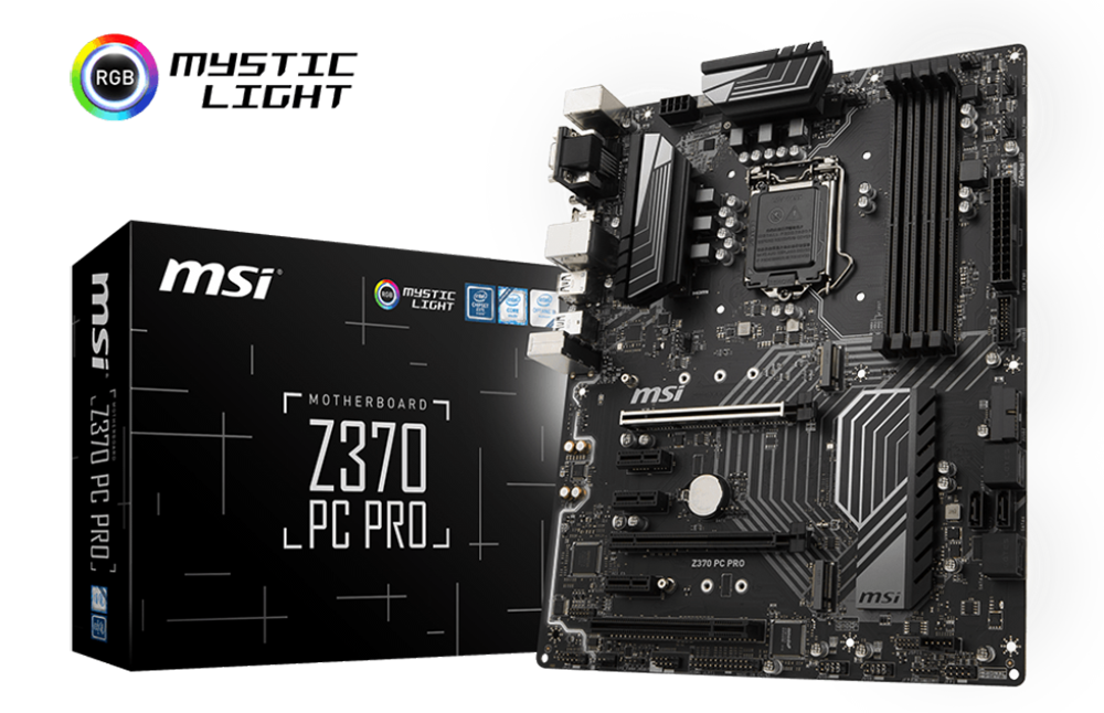 how to change the lighting on msi z370 motherboard