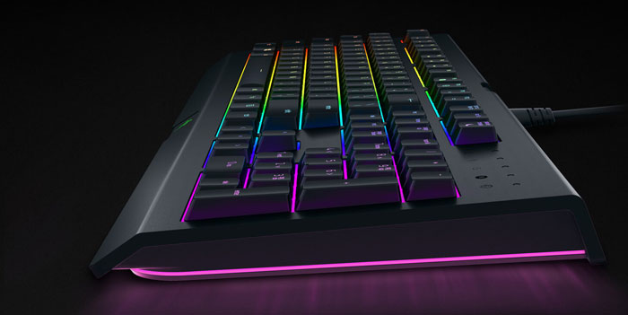 Razer Cynosa Chroma is an entry level spill resistant