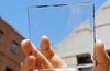 Highly transparent solar cells could be boon for green energy