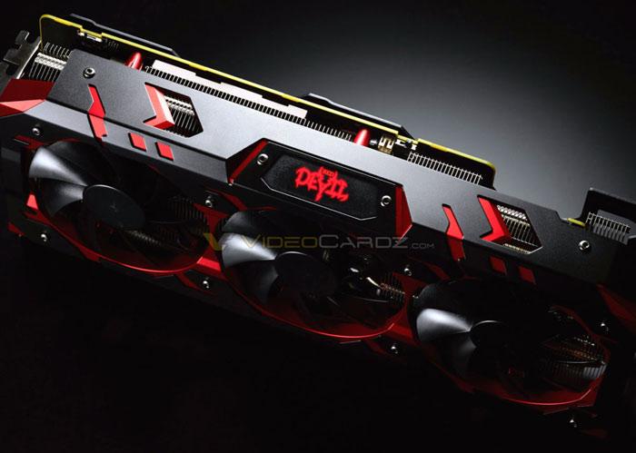 Powercolor Radeon RX Vega 64 Red Devil poses for camera