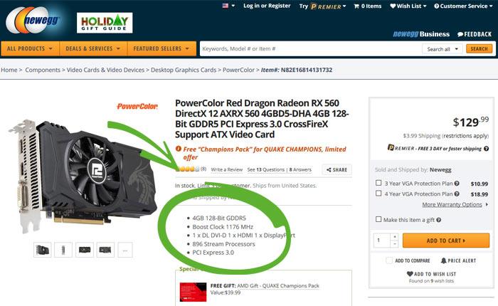 AMD adjusts Radeon RX 560 stream processor spec - Graphics - News