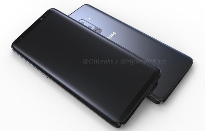 Samsung Galaxy S9 designs shown off in rendered videos