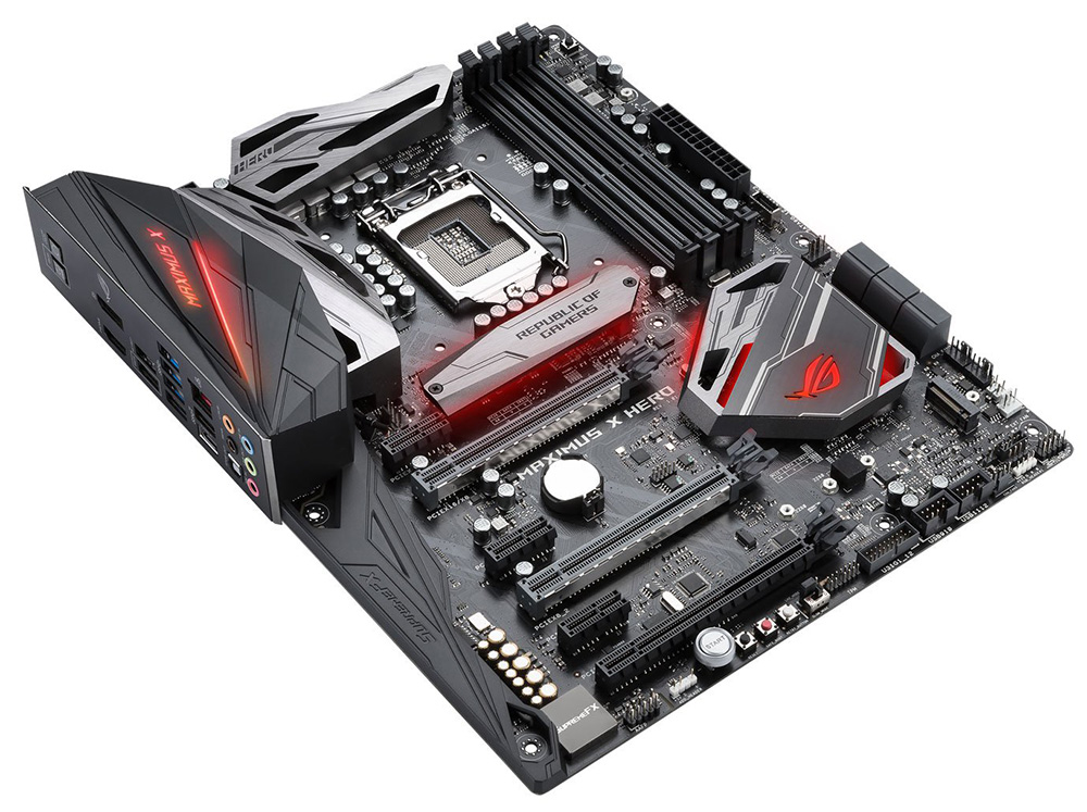 Review: Asus ROG Maximus X Hero - Mainboard - HEXUS net