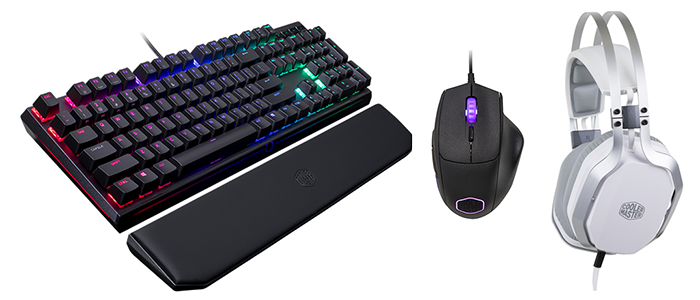 Day 27: Win a Cooler Master gaming upgrade - Peripherals