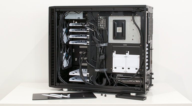 Cable Management Fractal Design R6 Fractal Design Define