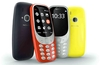 Nokia 3310 re-introduced as a colourful curvy candy bar phone