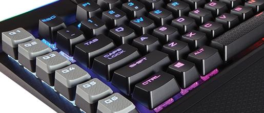 Review: Corsair Gaming K95 RGB Platinum - Peripherals - HEXUS net