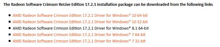amd driver download 64 bit