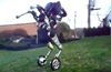 Boston Dynamics Handle, bipedal wheeled robot, spins and leaps