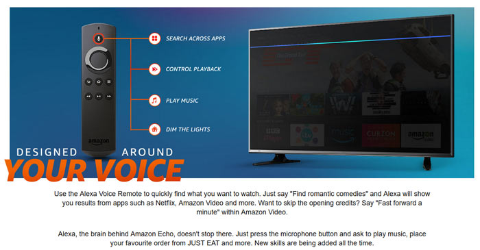 Amazon Fire TV Stick with Alexa Voice Remote has faster SoC - Audio