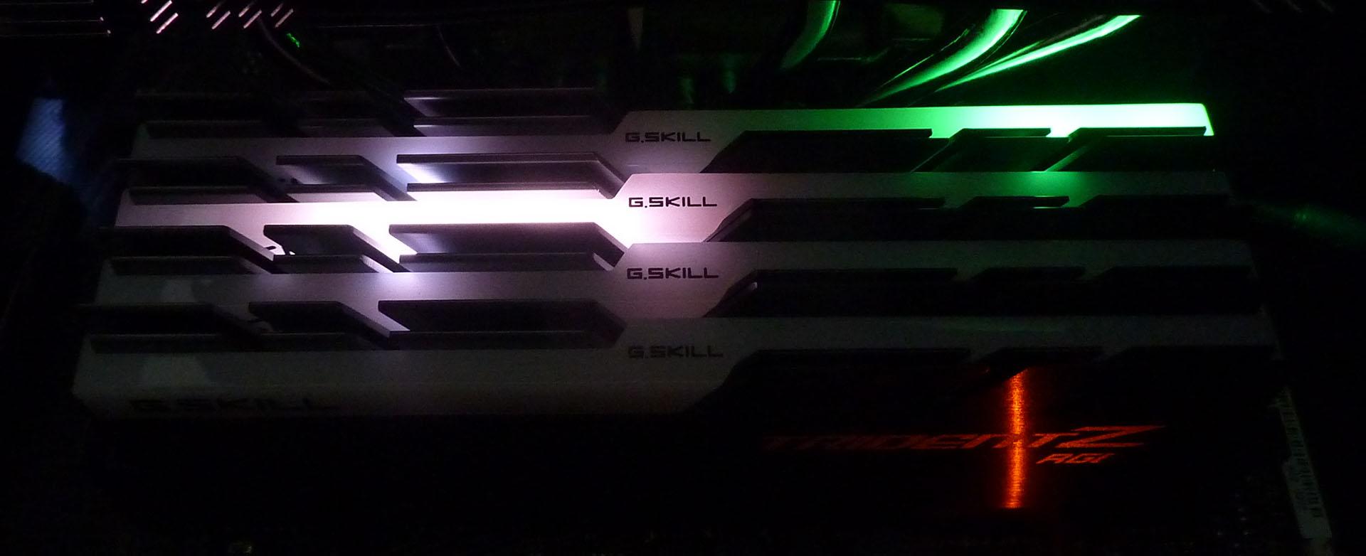 Review: G Skill Trident Z RGB 32GB DDR4-3200 (F4-3200C16Q