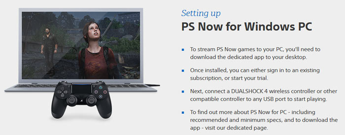 PS4 games on the way to PS Now game streaming service