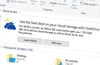 Microsoft ad banner nags you in Windows 10 File Explorer