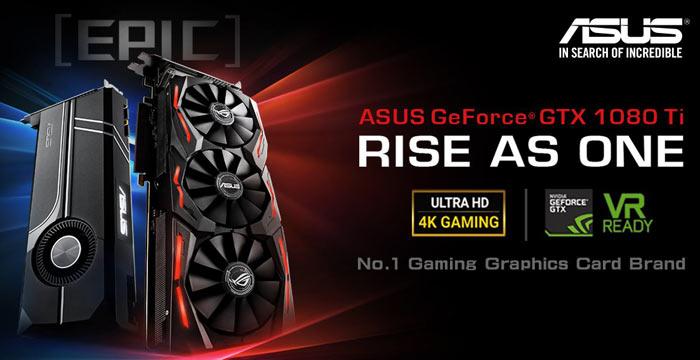 Asus reveals ROG Strix GeForce GTX 1080 Ti graphics card - Graphics