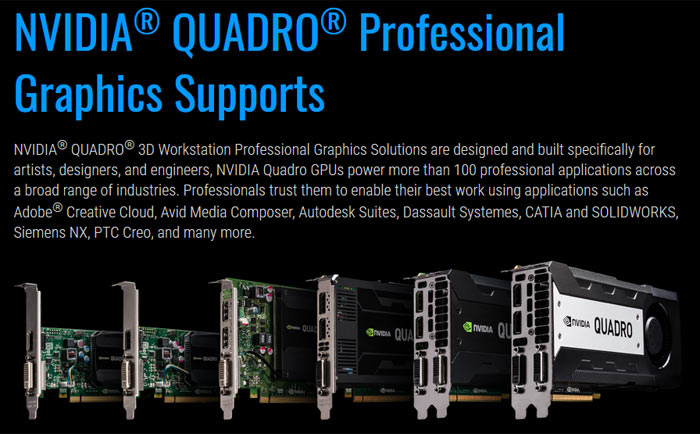 Gigabyte Z270X-Designare aimed at Quadro fancying designers