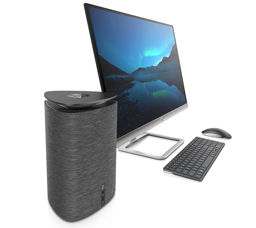 D At 730 And Adopting A Mini Tower Form Factor The Pavilion Wave Is Sleek 235mm X 168mm 173mm Machine Promising Full Desktop Power Fully
