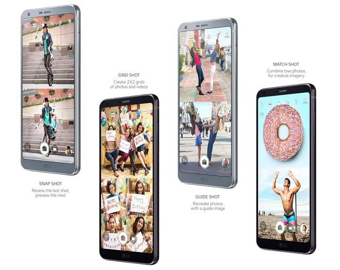 LG starts global roll-out of G6 smartphone