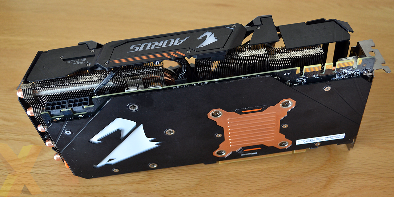 Review Aorus Geforce Gtx 1080 Ti Xtreme Edition Graphics Asus 11gb Ddr5x Rog Poseidon Again According To The Company This Increases Airflow By Up 23 Per Cent Bracing Lot Is A Centralised Section Whose Four Strips Light In Rgb